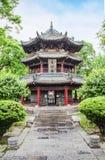 Pavillon in the Giant Wild Goose Pagoda Stock Photos