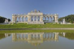 Pavillon Gloriette, Wien, Österreich stockfotografie