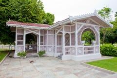 The pavillon housing Royalty Free Stock Photo