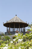 Pavillon im Wasser-Palast Taman Soekasada Ujung Stockbild
