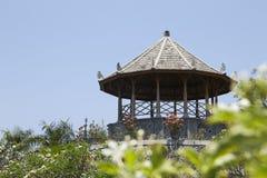 Pavillon im Wasser-Palast Taman Soekasada Ujung Lizenzfreies Stockbild