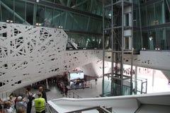 Pavillon italien intérieur à l'expo 2015 en Milan Italy Image libre de droits