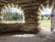 Pavillon in Kuzminki für einen Aufenthalt Stockfotos
