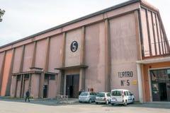 Pavillon liczba 5 w CinecittÃ, Rzym Fotografia Royalty Free