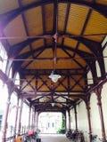 Pavillon peint de fer Photo stock