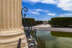 Pavillon Peyroux in Montpellier, France Royalty Free Stock Photos