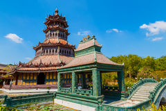 Pavillon Phra Kaew in Thailand Lizenzfreies Stockbild