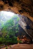 Pavillon in Phraya Nakorn cave Stock Images