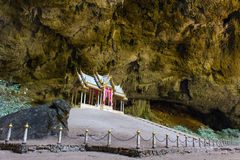 Pavillon in Phraya Nakorn cave Stock Images