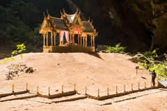 Pavillon in Phraya Nakorn cave nearby Hua Hin , Thailand . Natio Royalty Free Stock Image