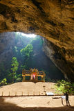Pavillon in Phraya Nakorn cave nearby Hua Hin , Thailand . Natio Stock Photos