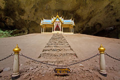 Pavillon in Phraya Nakorn cave Royalty Free Stock Image