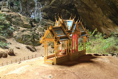 Pavillon in Phraya Nakorn cave Royalty Free Stock Images