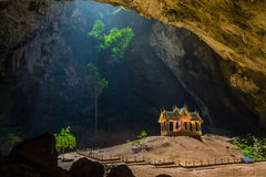 Pavillon in Phraya Nakorn cave nearby Hua Hin , Thailand . National Park Khao Sam Roi Yot Stock Photo