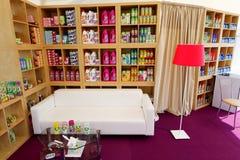 Pavillon pour la vente des marchandises de produit domestique Image libre de droits