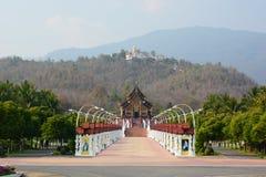 Pavillon reale Parco reale Rajapruek Chiang Mai Province thailand fotografia stock