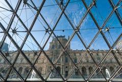 Pavillon Rishelieu dans le Louvre Photo stock