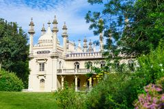 Pavillon royal à Brighton, Angleterre images libres de droits