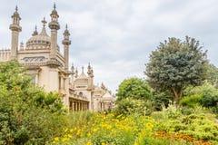 Pavillon royal à Brighton dans le Sussex est au R-U photos libres de droits