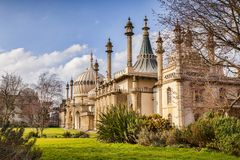 Pavillon royal, Brighton, le Sussex, R-U images stock