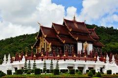 Pavillon royal (Ho Kham Luang) Image stock