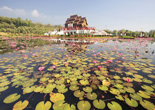 Pavillon royal thaï (Ho Kum Luang) Photos libres de droits