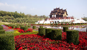 Pavillon royal thaï (Ho Kum Luang) Photographie stock libre de droits