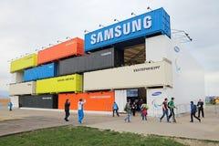 Pavillon Samsung Lizenzfreies Stockbild