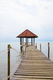Pavillon in schönem Lizenzfreie Stockfotografie