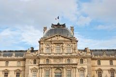 Pavillon si macchia del museo del Louvre Fotografia Stock Libera da Diritti