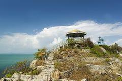 Pavillon sur XI l'île photographie stock libre de droits