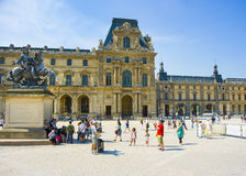 Pavillon Turgot  in the Louvre Palace Royalty Free Stock Photo