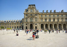 Pavillon Turgot  in the Louvre Palace Royalty Free Stock Photos