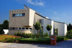 Pavillon, villa. Photos libres de droits