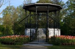 Pavillon Vondelpark Stockfoto