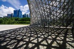 Pavillon während der Zukunft von uns Ausstellung Stockbilder