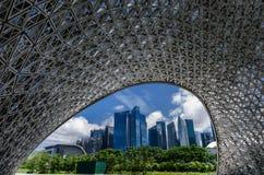 Pavillon während der Zukunft von uns Ausstellung Lizenzfreie Stockfotografie