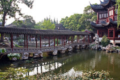 Pavillon in Yuyuan gardens, Shanghai, China Stock Photos