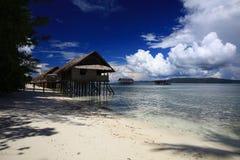 Pavillons de l'eau Images libres de droits