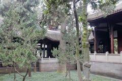 Pavillons de temple de wuhou, adobe RVB photo stock