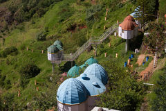 Pavillons de touristes Uuti, Tamil Nadu, Inde Photos libres de droits