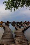 Pavillons gentils de pêche Photographie stock