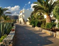 Pavillons Stalis complexe - Crète - Grèce Image libre de droits
