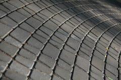 Pavimentação curvada do bloco Imagens de Stock