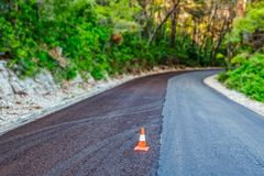 Pavimentação da estrada Imagem de Stock Royalty Free