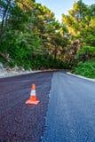 Pavimentação da estrada Foto de Stock