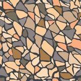Pavimentación de la piedra de la pared de ladrillo de las losas del pavimento de la cubierta del suelo de baldosas Fotografía de archivo