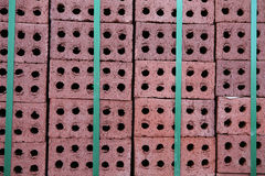 Pavimentación de ladrillos Fotos de archivo libres de regalías