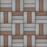 Pavimentación de las formas geométricas que consisten en a Fotografía de archivo libre de regalías