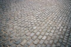 Pavimentación de piedra Foto de archivo libre de regalías